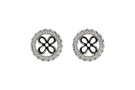 B232-86116: EARRING JACKETS .30 TW (FOR 1.50-2.00 CT TW STUDS)