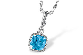 D231-97952: NECK 1.03 BLUE TOPAZ 1.05 TGW