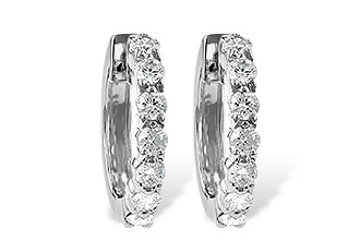 K046-48833: EARRINGS 1.00 CT TW