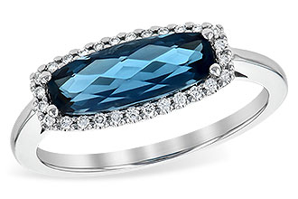 L235-59806: LDS RG 1.79 LONDON BLUE TOPAZ 1.90 TGW